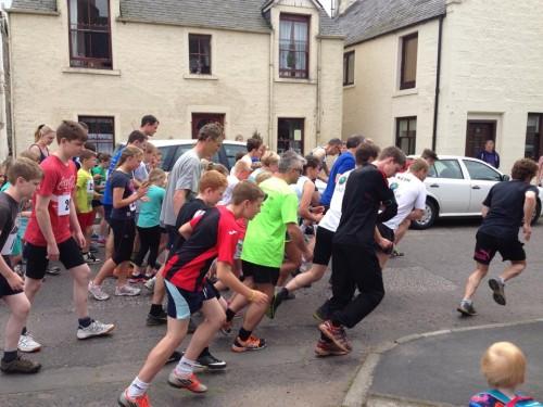 Hill Race Start 2014