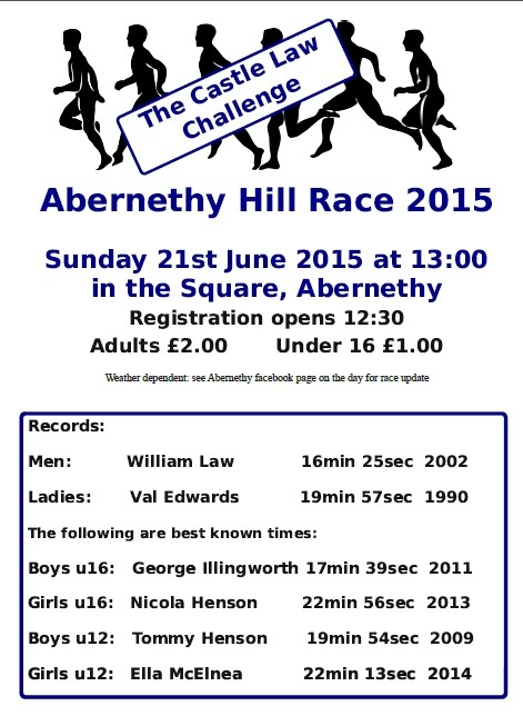 Hill Race 2015 Poster
