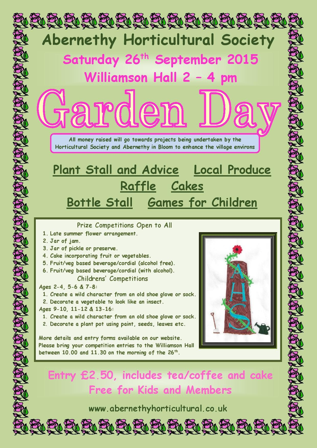 Garden Day Poster 2015